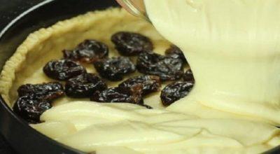 Сказочное сочетания чернослива и творога делает этот пирог умопомрачительно вкусным