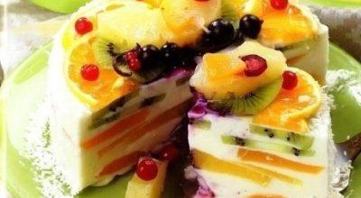 Творожный торт «Волшебный»