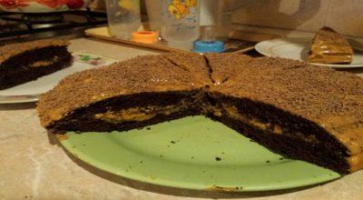 Очень вкусный торт «Черный принц»» на кефире