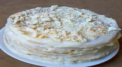 Ванильный торт на сковороде!