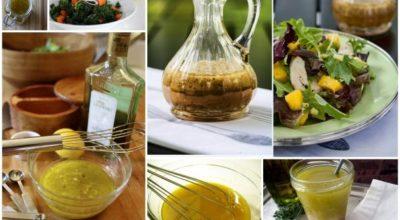 Вкусные и полезные заправки для салатов