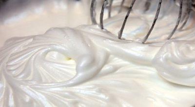 Белковый заварной крем