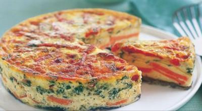 Фриттата: итальянский омлет! Вкусный завтрак!