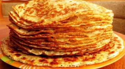 Необычные творожные блины к завтраку. Готовлю каждые выходные!