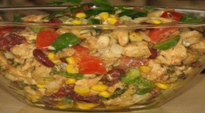 Обалденный салат без майонеза …пальчики оближешь!
