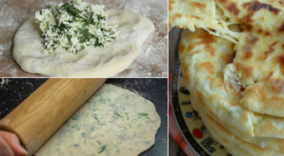 Приготовила стопку ароматных лепешек за полчаса: вкуснейшие хычины по специальному рецепту!