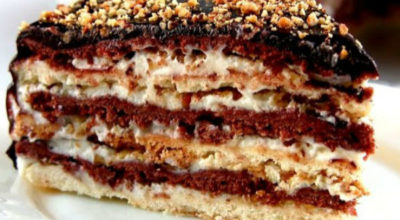 Торт » Мишка» / Простой домашний Сметанник