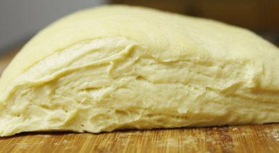 Тесто на кефире для пирожков