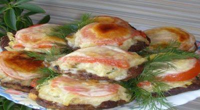 Оригинальная печень с овощами. Такой вариант, точно Вас удивит!