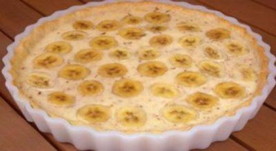 Вкуснейший банановый пирог всего за полчаса