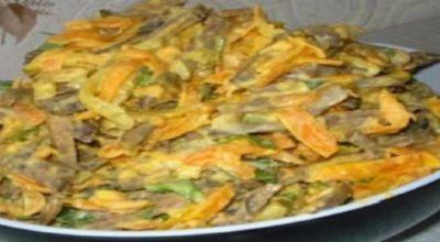 Любимый салат. Готовлю на каждый праздник, нравится абсолютно всем!
