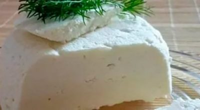 Как приготовить из кефира и молока домашний сыр?