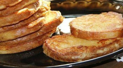 Рецепт сырных гренок от Вероники Крамарь