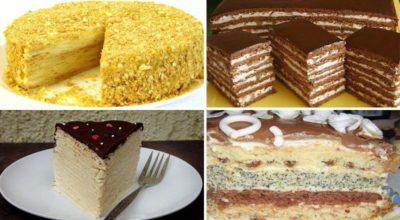 6 самых вкусных домашних тортов. Отличная подборка!