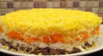 Невероятно вкусный салат «Совершенство»