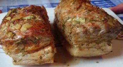 Хочу предложить вам сегодня вместе приготовить сало, запеченное в фольге в духовке!