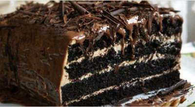 Завораживающий шоколадный тортик «Арабские сказки»
