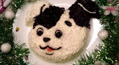 Салат, притягивающий удачу в год Собаки: вкус просто потрясает!
