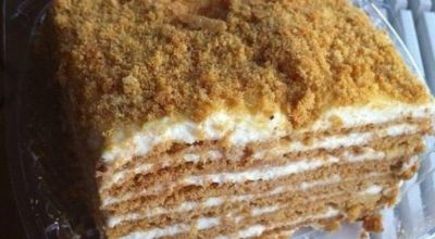 Классический торт «Домашний сметанник»