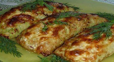 Сезон кабачков в самом разгаре! Готовим это удивительно простое и вкусное блюдо!