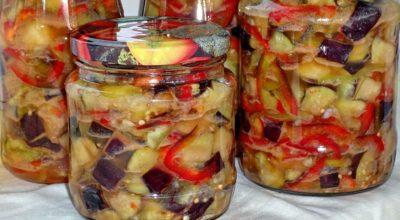 Аппетитка из баклажанов на зиму, уже обошедшая «тещин язык»