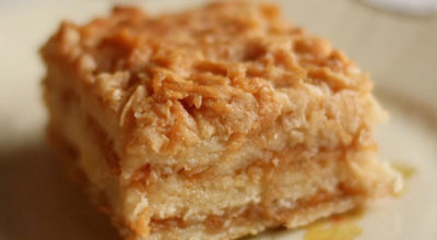 Болгарский яблочный пирог или пирог «3 стакана» . Просто наслаждение