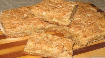 Болгарский яблочный пирог или пирог «3 стакана». Просто наслаждение
