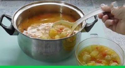 Самый модный суп с сырными шариками: нежный и волшебно вкусный