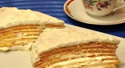 Торт «Парижский коктейль» очень-очень вкусный…