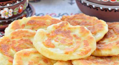 Лепешки сырные на сковороде