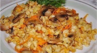 Лично я перловку обожаю потому, что я знаю как ее готовить — «Перловая каша с грибами»