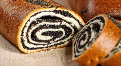Рулет с маком или орехами – лучший рецепт домашней выпечки. Много начинки и тонкое тесто – идеальное сочетание!