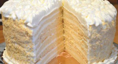 Торт «Молочная девочка» — немецкая вкусняшка