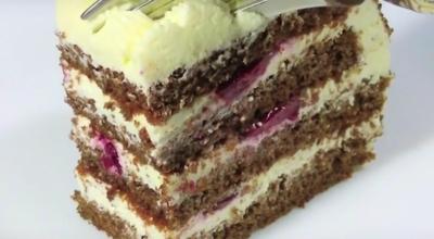 Бесподобный творожный торт за 30 минут