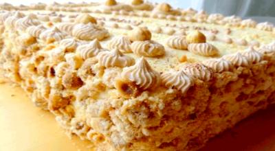 Безумно вкусный киевский торт
