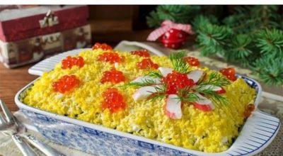 К Новому Году — 9 вкусных салатов