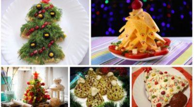 Необычные ёлочки на вашем новогоднем столе