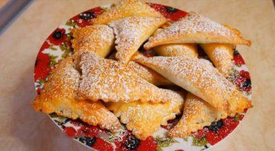 Печенье из изумительного творожного теста без яиц и разрыхлителя, которое на глазах поднимается в духовке