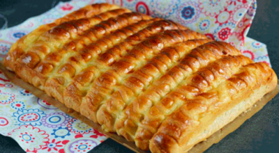 Вкуснейшие сдобные булочки-сайки с заварным кремом