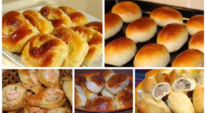 Топ-5 простых рецептов пирожков, как у бабушки!