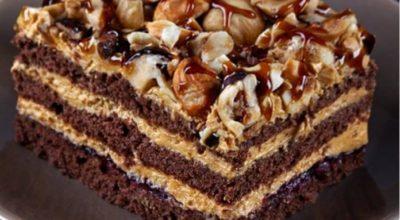 Вкуснейший многослойный торт «Арабские сказки»