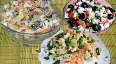 Салат без майонеза! Вкуснее оливье