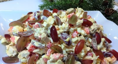 Салат «Новогодний фурор»