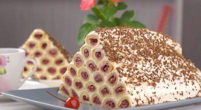Удивительно вкусный торт «Монастырская изба» из блинов