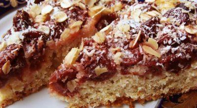 Овсяный пирог для сладкоежек, сидящих на диете