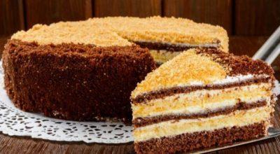 Простой и вкусный тортик на скорую руку