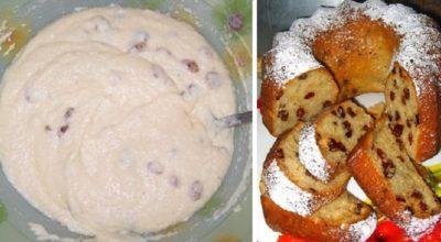 Пышный пирог-пятиминутка. Простой рецепт без возни и горы испачканной посуды