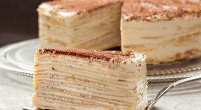 Торт «Крепвиль», самый нежный вкус в мире