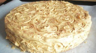 Торт «Соня» из детства. Простой и быстрый