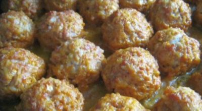 Вкуснейшие ёжики с картошкой в духовке